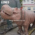 Animal theme park profesional lifesize animatronic hippo