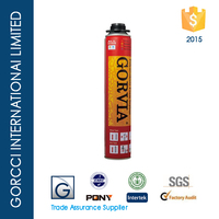 Gorvia Item-R 750ml high expansion PU foam sealant for window and doors
