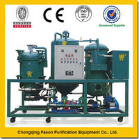 Low-temp Distillation Removing Moisture Automatic Trash Collection waste lube oil recycling equipment