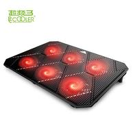 PCCOOLER is master in China 6 Red LED USB 2.0 port for laptop cooling pad