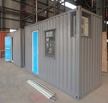 20 ft Mobile Prefabricated Shipping Container Cheap House Dormitory Living Room