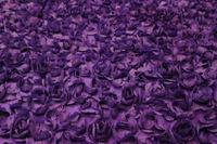 3D rose lace fabric, 3D tafetta