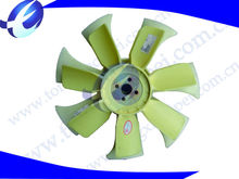 Types of plastic fan blades for electric motor