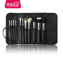 MSQ 11pcs professional makeup brush goat hair makeup brush best selling makeup brush kits