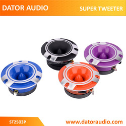 ST2505P tweeter speaker car pro audio 1 inch 25.4mm titanium super tweeter speaker aluminum material bullet tweeter speaker
