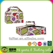 Colorful printed mini pizza boxes from dongguan