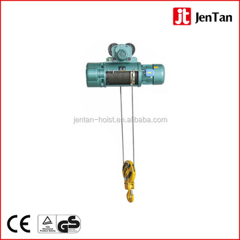 Hot sale Factory price CD1/MD1 Type electric wire rope hoist