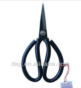 [DAJI] Rubber handle scissors 2# Industrial tailoring scissors SK5 scissors cut leathers fabrics Threads