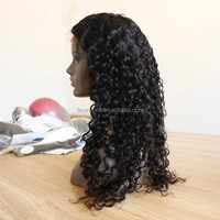 Best quality full lace wig virgin brazilian hair wigs for black women 100 remy human hair wig