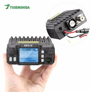 QYT KT-7900D 25W Quad Band Mobile radio 144/220/350/440MHZ 4 Bands FM Transceiver mini Car Radio Walkie talkie