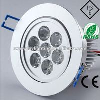 7W high power LED downlight