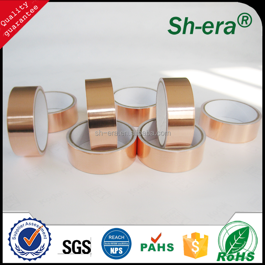 Professional Die Cut Conductive Copper Foil Tape For Soldering