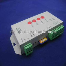 dmx rgb led controller,SD card led controller,RGB pixel controller 2048 pixels