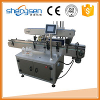 Wholesale widely use conical semi automatic e liquid bottle labeling machine