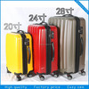 high quality abs trolley travel bag /travel zone luggage