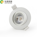 Mini 7watt cob downlight ra92 dimmable led small ceiling lights work well with triac dimmer JUNG ABB ELTAKO Schneider NIKO IPAS
