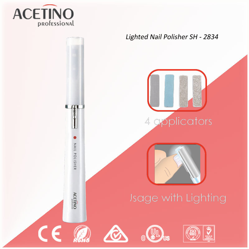 Professional Electric different Functional nail care tools and equipment With LED Light