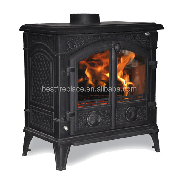 Modern Wood Stoves with Central Heating System
