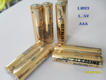 durable power 650mah alkaline battery of LR03
