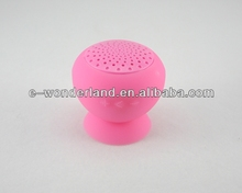 2014 world cup sillicone sucker wireless bluetooth mini speaker