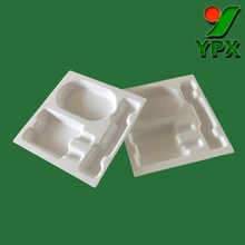 Customized eco-friendly insert packaging tray,compostable insert packaging tray