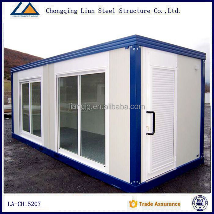 20 ft Steel frame prefab house container homes plans