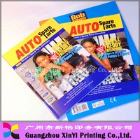 affordable cheap girls offset full color magazine printing