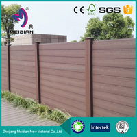 Wholesale wpc wood plastic composite fence panels wood wholesale