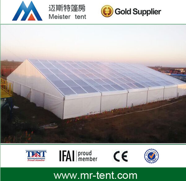durable aluminum alloy structure warehouse temporary storage tent