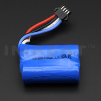 1850*2 MOSTRAY li ion battery 3.7v 1100mah rechargeable batterypack