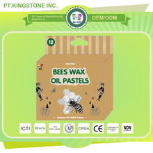 children customized bees washable wax crayon