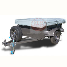 Types of Light Duty Mini Tractor Car ATV Trailer