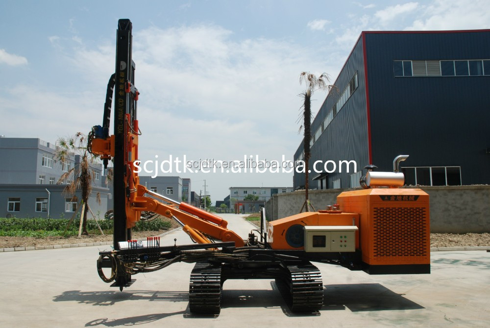 used portable water well drilling rigs for sale YGL-100A/C drilling fluids testing equipment