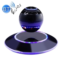 Wholesale UFO Design Bluetooth Speaker, Magnetic Suspension Subwoofer Audio Receiver with Colorful LED Lights,Hands-free Calls