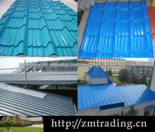 RAL colors coated steel blue roof tiles