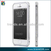 bling bling luxury aluminum diamond bumper for iphone 5 5s
