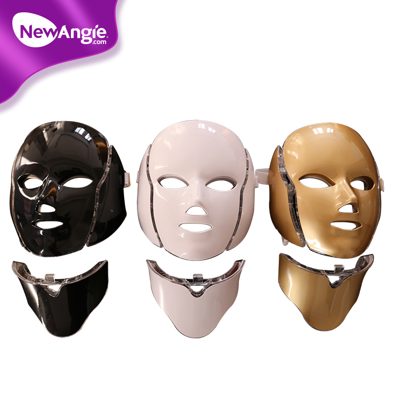 7 colors skin care non invasive treatment led face light mask