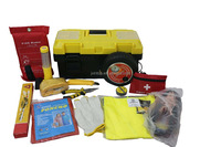 14pcs-B road safety auto emergency kit