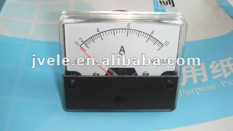 96*96 mounted analog ac ammeter