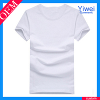 Unisex blank scoop neck t shirts