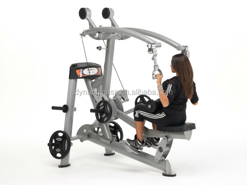 H-7003 Plate loaded Lat Pulldown strength training machine
