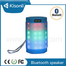 LED Portable Bluetooth Speaker With Perfect Sound / In High Quality