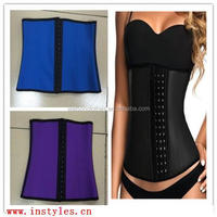 lingerie Ann Chery Style Black Latex Waist Trainer xxx movies