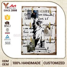 Customization Craft Hanging Plaque Plastic Wall Art Coffee Shop Sign Board