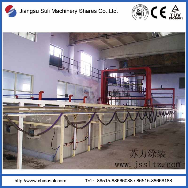 Dandong electroplating factory hanging plating line
