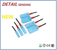 F3N Series Small Rectangle Proximity Sensors, IP 67, Dual LED, Can Be Customized 5VDC Inductance Proximity Switch