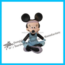 Custom Cute 3D small plastic toy figures,Toys for collection