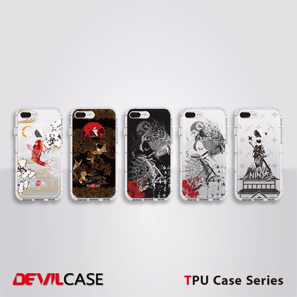Protective Printed Soft Phone Case TPU For iPhone