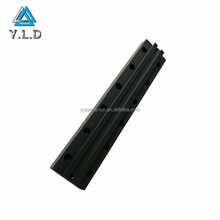 OEM ODM Custom Black Anodized Aluminum Profiles Extrusions CNC Milled Parts For Lighting Lamp