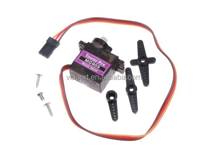 MG90S Metal Gear RC Speed torque Micro Servo 9g for Trex Align 450 RC helicopter